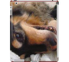 Silly puppy! iPad Case/Skin