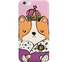 Queen Corgi iPhone Case/Skin