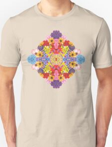 Diamond Flowers T-Shirt