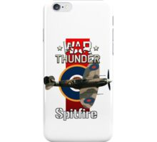 War Thunder Spitfire iPhone Case/Skin