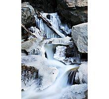 Freezing Falls Photographic Print