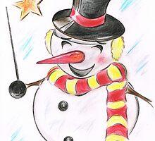 Snowmans  Stardom by Teresa White