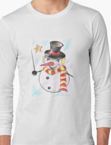 Snowmans  Stardom Long Sleeve T-Shirt