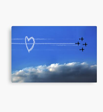 Taking Love to New Heights Canvas Print