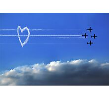 Taking Love to New Heights Photographic Print