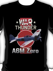 War Thunder A6M Zero T-Shirt