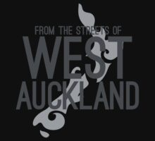 From the streets of WEST AUCKLAND Baby Tee