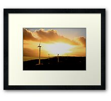 Nature's Own Power Framed Print