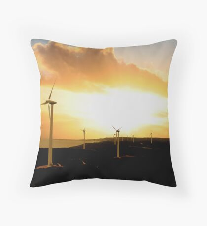 Nature's Own Power Throw Pillow