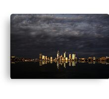 Overcast Perth Canvas Print