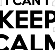 I cant keep calm Im a FLINT Sticker