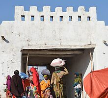 Erer Gate in Harar, Ethiopia by Dave Cole