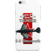 War Thunder Il-2 Sturmovik iPhone Case/Skin
