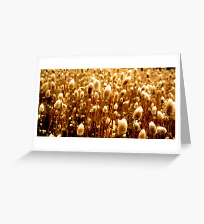 The Golden Sickle Greeting Card