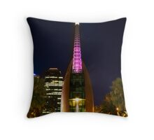 The Belltower Throw Pillow