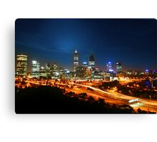 Pulse of Perth Canvas Print