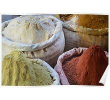 Spice Market in Harar, Ethiopia Poster