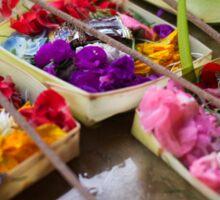 Canang Sari - Balinese Offerings Sticker