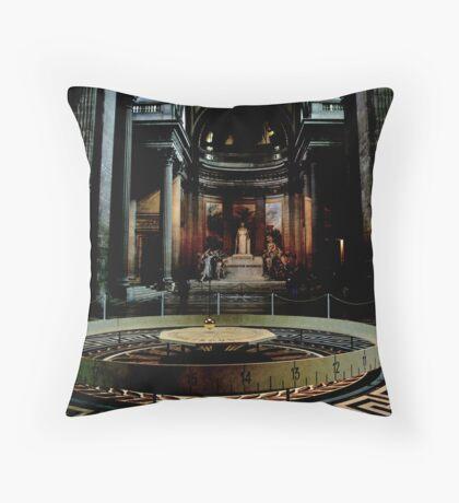 Foucault's pendulum Throw Pillow