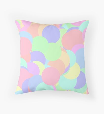 Na-Nats Cheerful Poppers Throw Pillow
