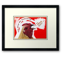 Something To Crow About Framed Print