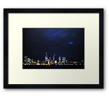 Australia Day, Perth Framed Print