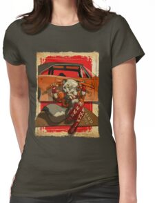 Wolf Girl 2 Womens Fitted T-Shirt