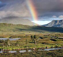 Rannoch Moor Rainbow by Grant Glendinning