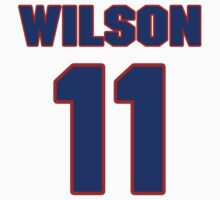 National football player Wade Wilson jersey 11 by imsport