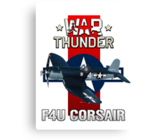 War Thunder F4U Corsair Canvas Print