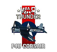 War Thunder F4U Corsair Photographic Print