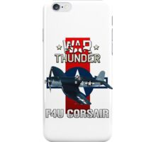 War Thunder F4U Corsair iPhone Case/Skin