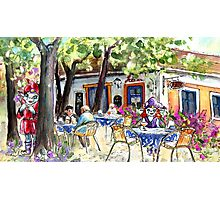 Romance In Szentendre Photographic Print