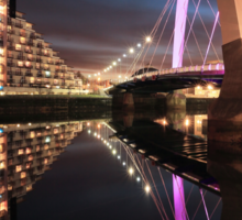 The Glasgow Clyde Arc Bridge Sticker
