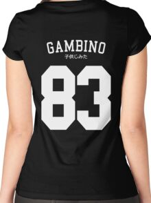 Gambino Jersey Women's Fitted Scoop T-Shirt