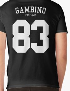 Gambino Jersey Mens V-Neck T-Shirt