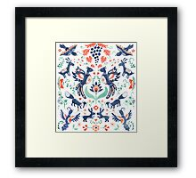 Nature in balance Framed Print