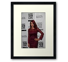 Amy Childs Framed Print