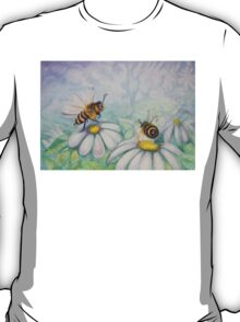 Bees and Daisies I love you T-Shirt
