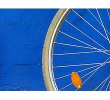 Bike Wheel Photographic Print
