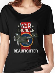 War Thunder Beaufighter Women's Relaxed Fit T-Shirt
