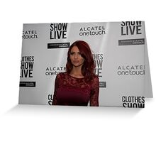 Amy Childs Greeting Card