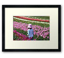 Tulip Farm Framed Print