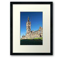University of Glasgow Framed Print