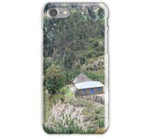 Sole House near Lake Wenchi, Ethiopia iPhone Case/Skin