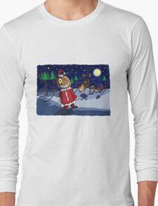 Odd Santa & Bob Reindeer Long Sleeve T-Shirt
