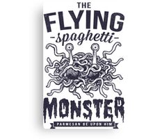 The Flying Spaghetti Monster Canvas Print