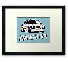 Fortitude's - Ford Escort Mark II 'Hang It Out' Framed Print