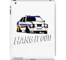 Fortitude's - Ford Escort Mark II 'Hang It Out' iPad Case/Skin