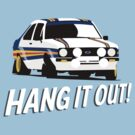 Fortitude's - Ford Escort Mark II 'Hang It Out' by twainf